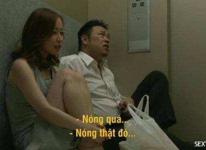 Địt nhau trong thang máy ~ Yuu Shinoda