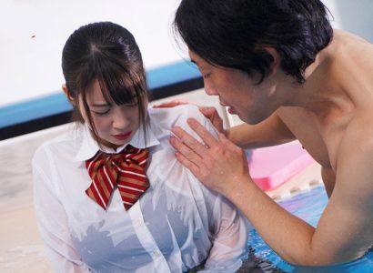 Thầy giáo dạy bơi và em học trò Aika Yumeno vú to